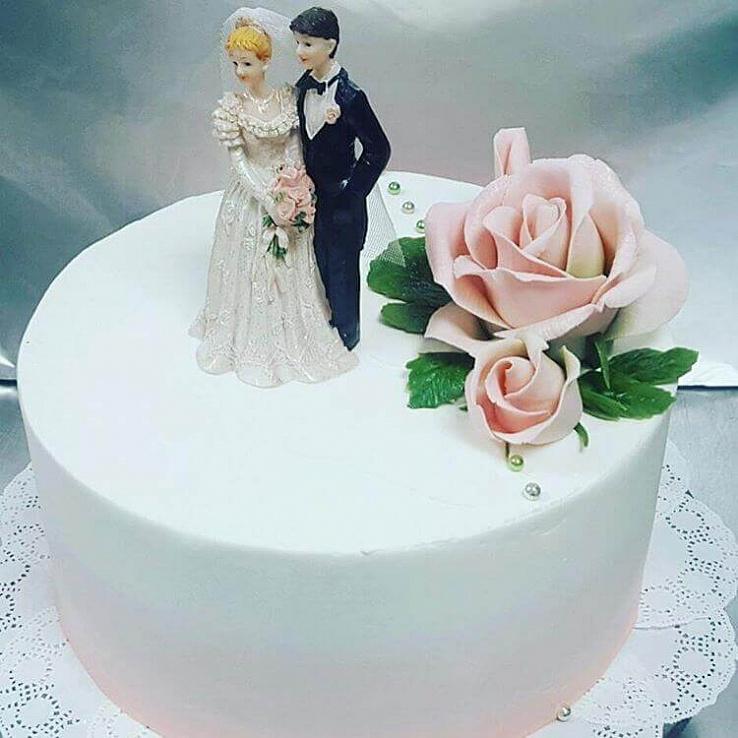 """Торт """"Жених и невеста"""""""