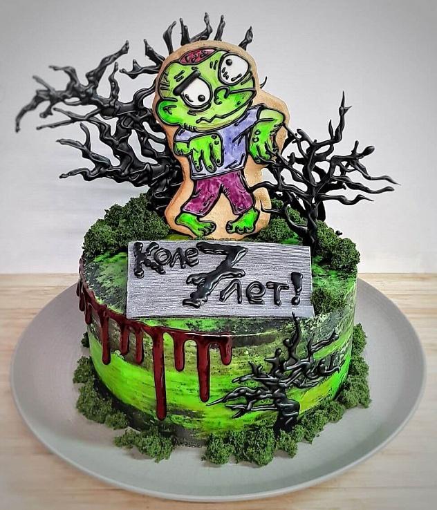 """Торт """"Зомби"""""""